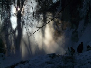 ice fog photo