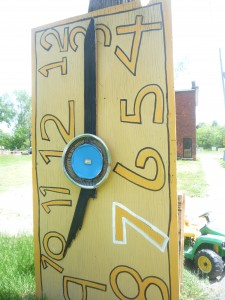 clock at the Heidelberg Project