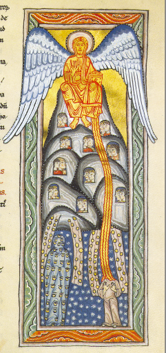 God Enthroned Shows Himself to Hildegard