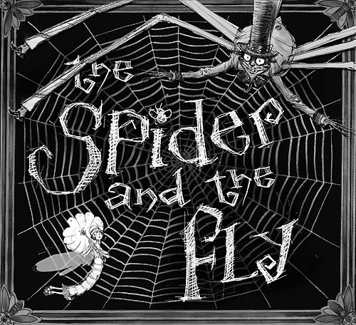 The Spider and the Fly Art by Tony DiTerlizzi